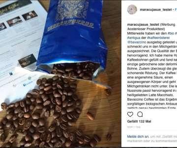 Bloggerin maracujasue testet unseren Bio Guatemala Antigua