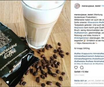 Bloggerin maracujasue testet unseren Bio Espresso Classic