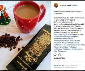 Bio Kaffee Crema und Bio Espresso Classic im Test von Bloggerin engel201testet